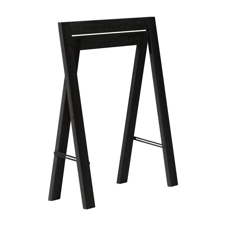 Austere Tischbock 2er-Set, Eiche schwarz von Form & Refine