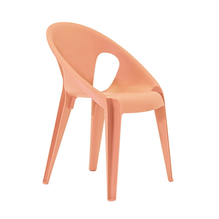 Bell Chair in der Farbe sunrose orange