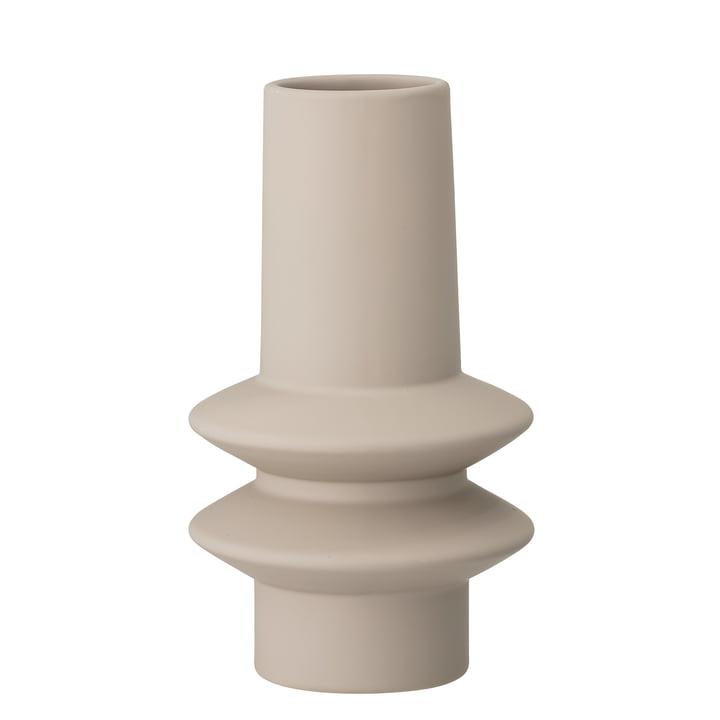 Ösold Vase Ø 12,5 x H 22 cm von Bloomingville in natur