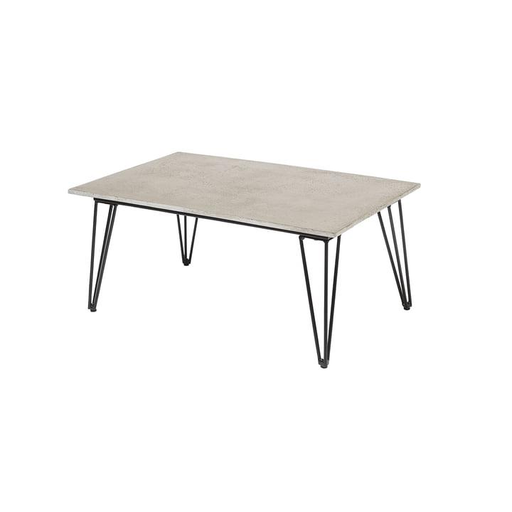 Mundo Coffee Table, Beton / grau von Bloomingville
