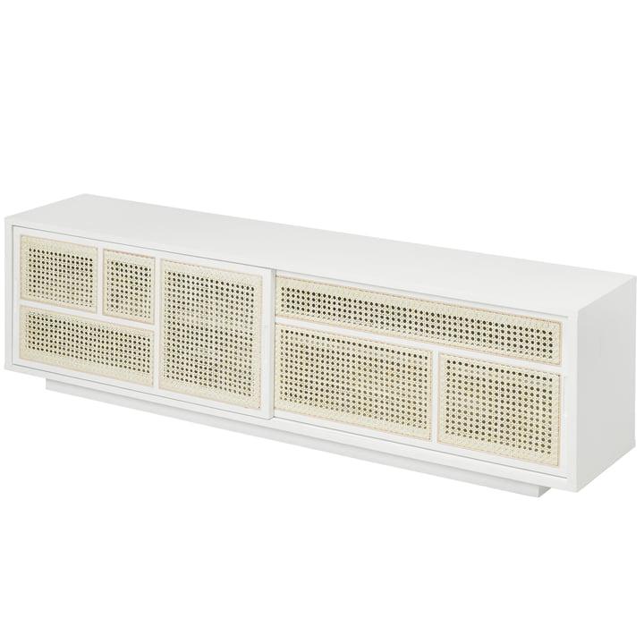 Air Sideboard/ TV- Konsole, weiß / grau von Design House Stockholm