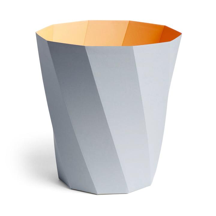 Paper Paper Papierkorb, Ø 28 x H 30,5 cm, hellgrau von Hay.