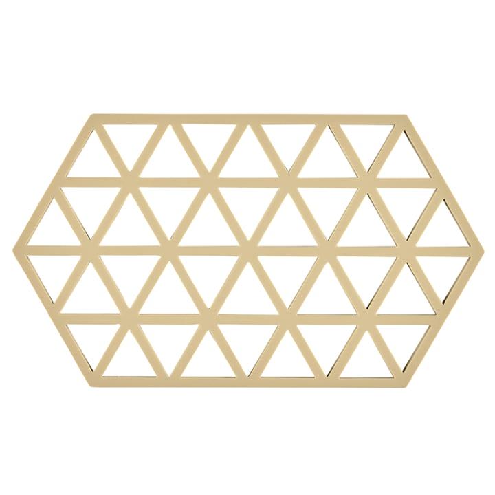 Triangle Untersetzer, 24 x 14 cm, warm sand von Zone Denmark