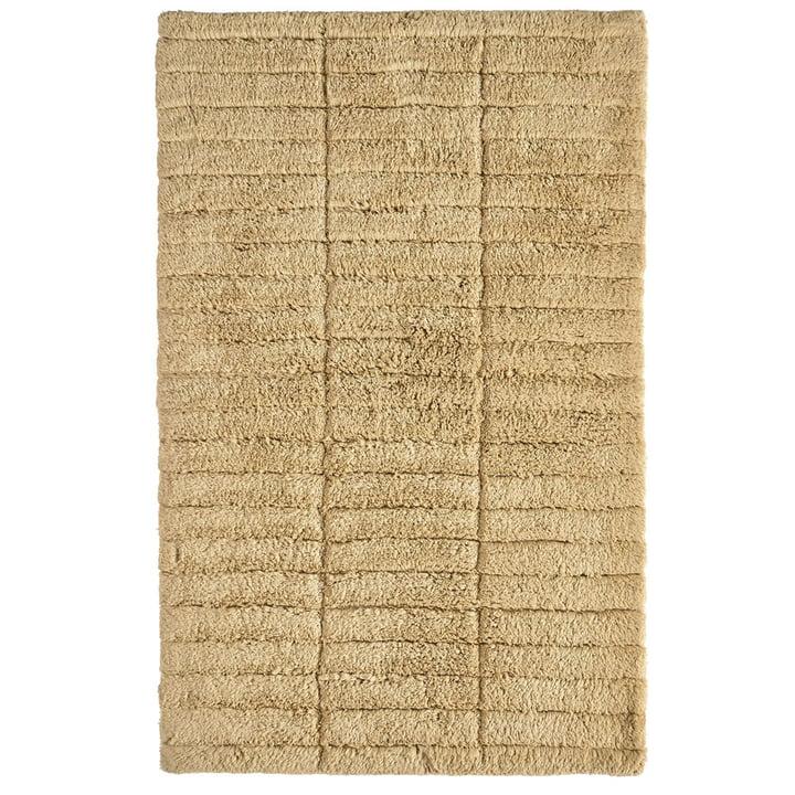 Soft Tiles Badezimmermatte, 80 x 50 cm, warm sand von Zone Denmark