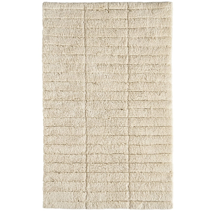 Soft Tiles Badezimmermatte, 80 x 50 cm, wheat von Zone Denmark