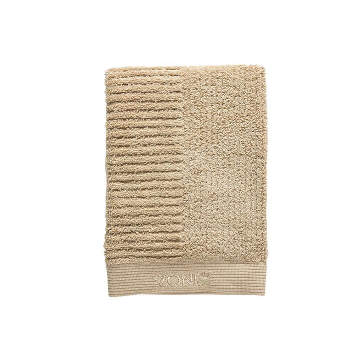 Classic Gästehandtuch, 50 x 70 cm, warm sand von Zone Denmark