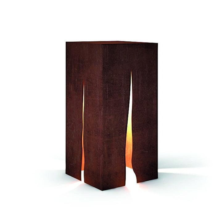 Granito Outdoor Stehleuchte H 60 cm, rost von Artemide