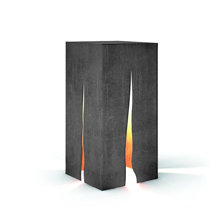 Granito Outdoor Stehleuchte H 60 cm, grau von Artemide