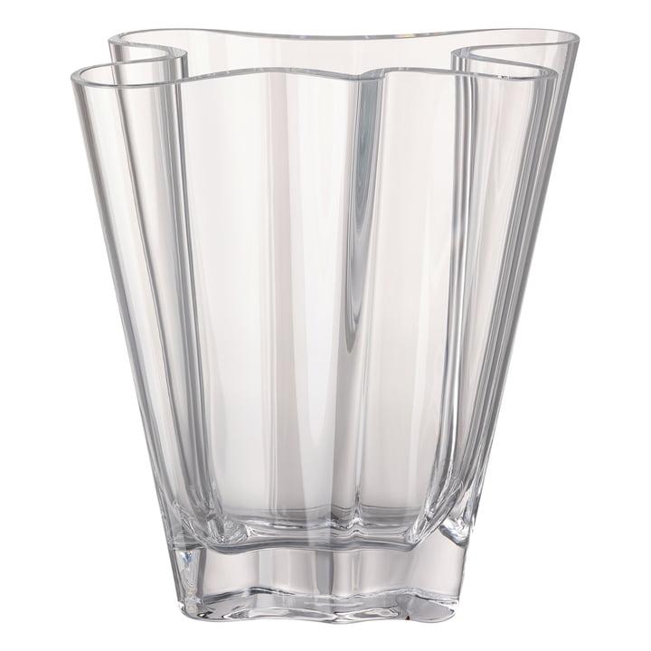 Flux Vase, 26 cm / klar von Rosenthal