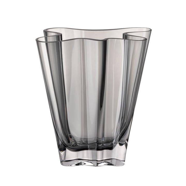 Flux Vase, 20 cm / grau von Rosenthal