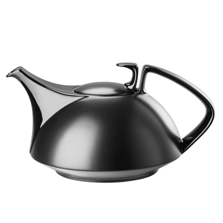 TAC Teekanne groß, schwarz von Rosenthal
