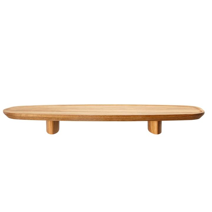 Rosenthal - Junto Tablett auf Fuß H 4,5 cm, 45 x 16 cm, Eiche