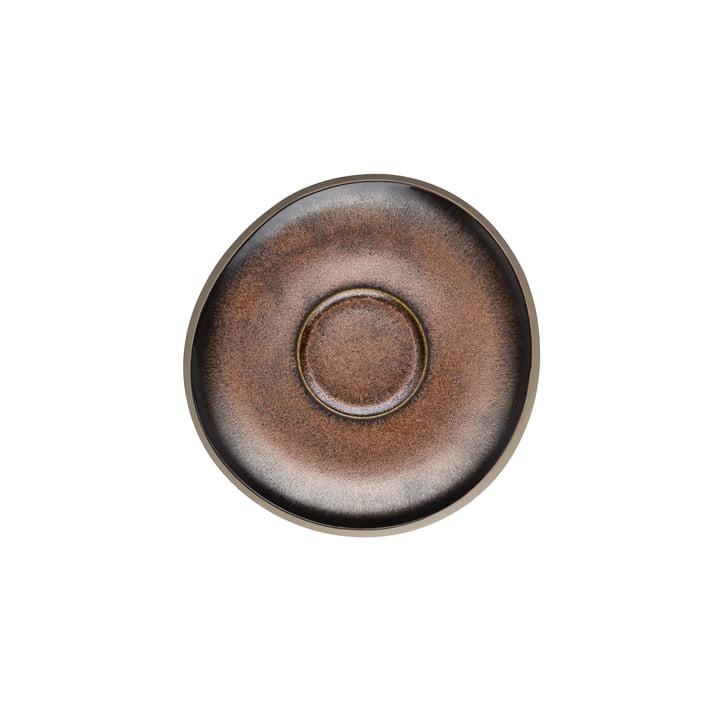 Junto Kombi- / Tee- / Kaffee-Untertasse Ø 15 cm, bronze von Rosenthal