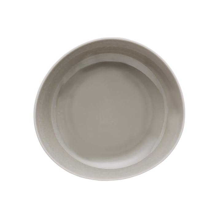 Junto Teller Ø 22 cm tief, pearl grey von Rosenthal