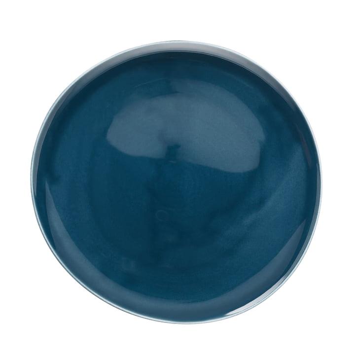 Junto Teller Ø 27 cm flach, ocean blue von Rosenthal
