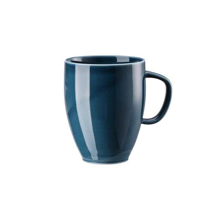 Junto Becher mit Henkel 38 cl, ocean blue von Rosenthal