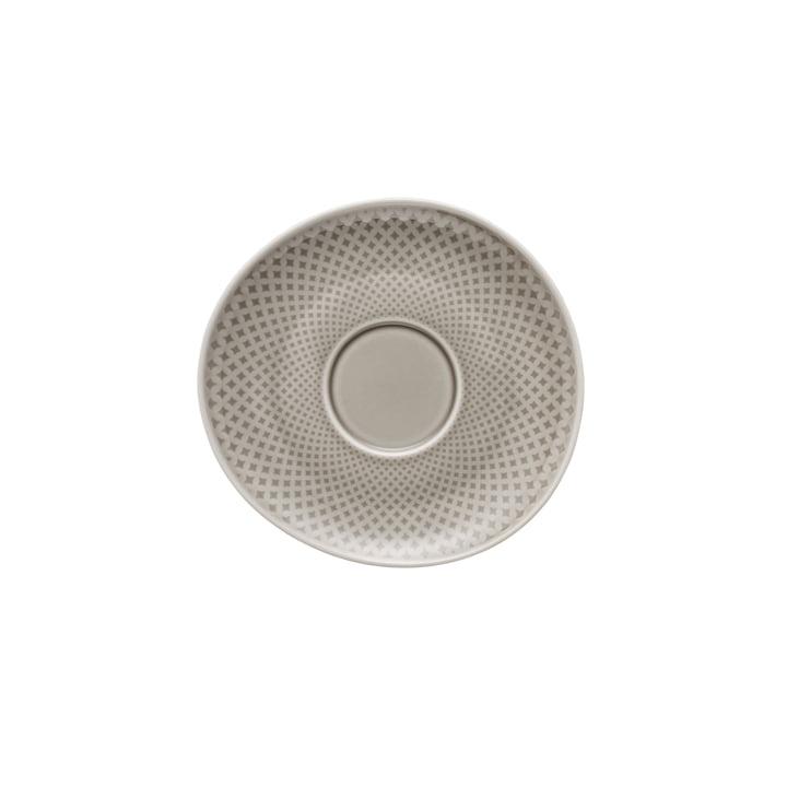 Junto Kombi- / Tee- / Kaffee-Untertasse Ø 15 cm, pearl grey von Rosenthal