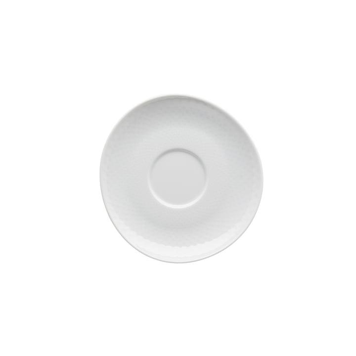 Junto Kombi- / Tee- / Kaffee-Untertasse Ø 15 cm, weiß von Rosenthal