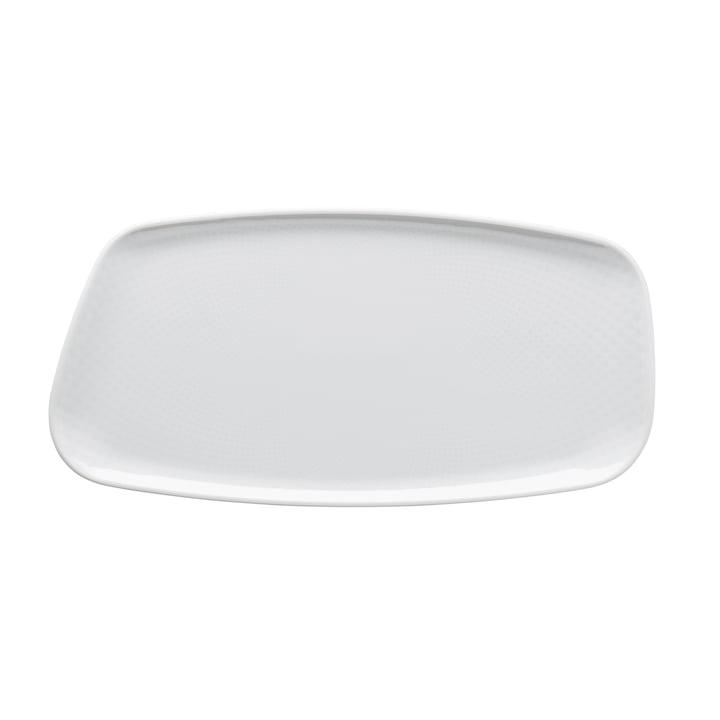 Junto Platte, 30 x 15 cm, weiß von Rosenthal