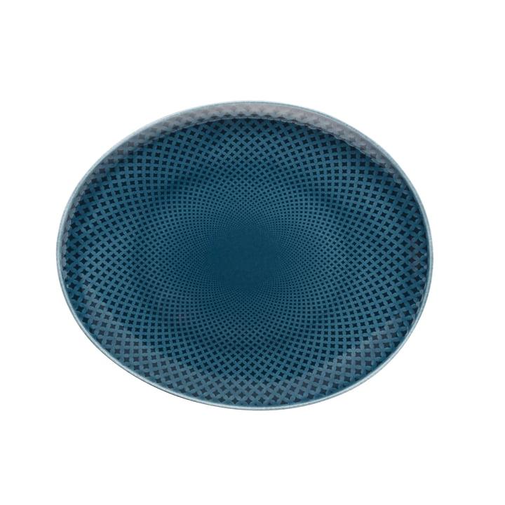 Junto Teller Ø 22 cm flach, ocean blue von Rosenthal