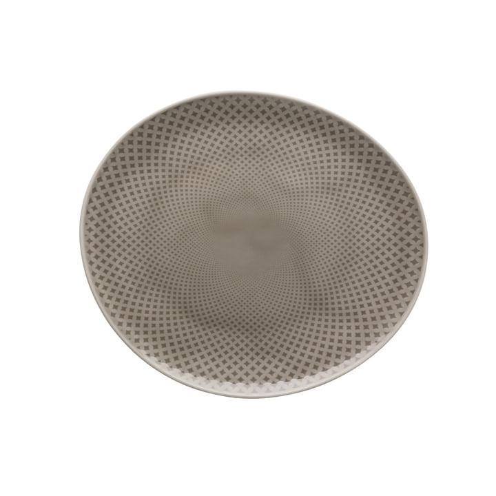 Junto Teller Ø 22 cm flach, pearl grey von Rosenthal