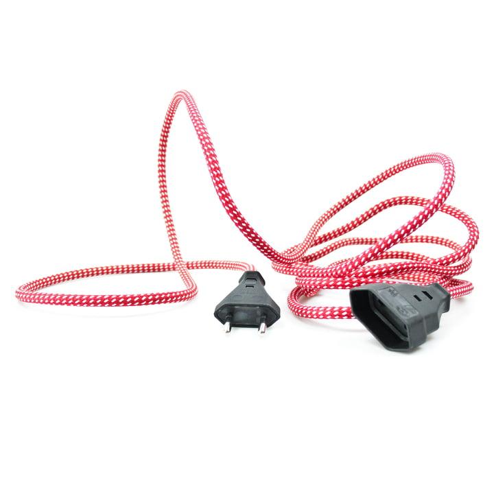 Extension Cord Verlängerungskabel, Wellington Red (TT-95) von NUD Collection