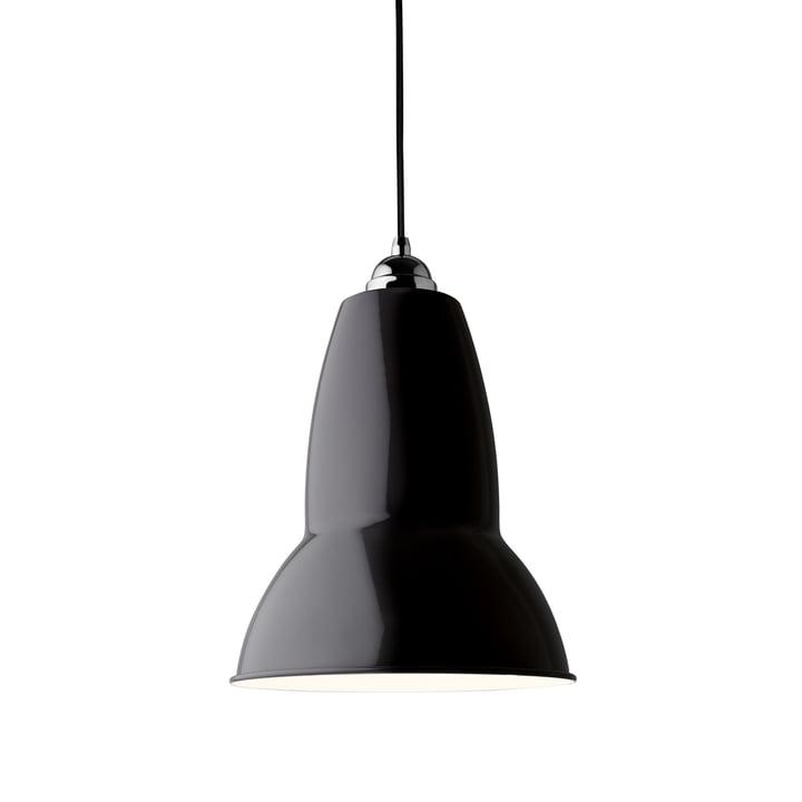 Original 1227 Maxi Pendelleuchte, jet black (Kabel: schwarz) von Anglepoise