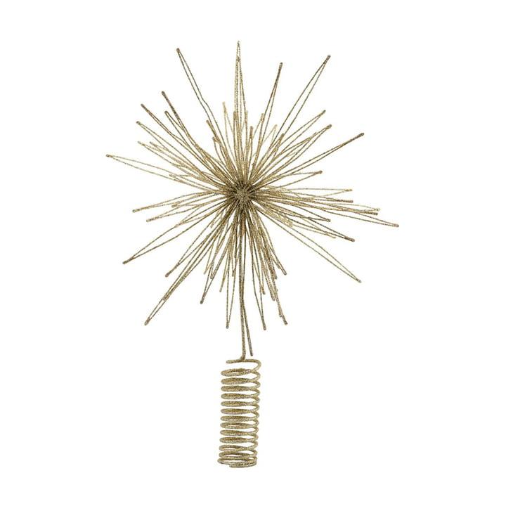 Weihnachtsbaumstern Christmas Star, Ø 25 cm, gold von House Doctor.