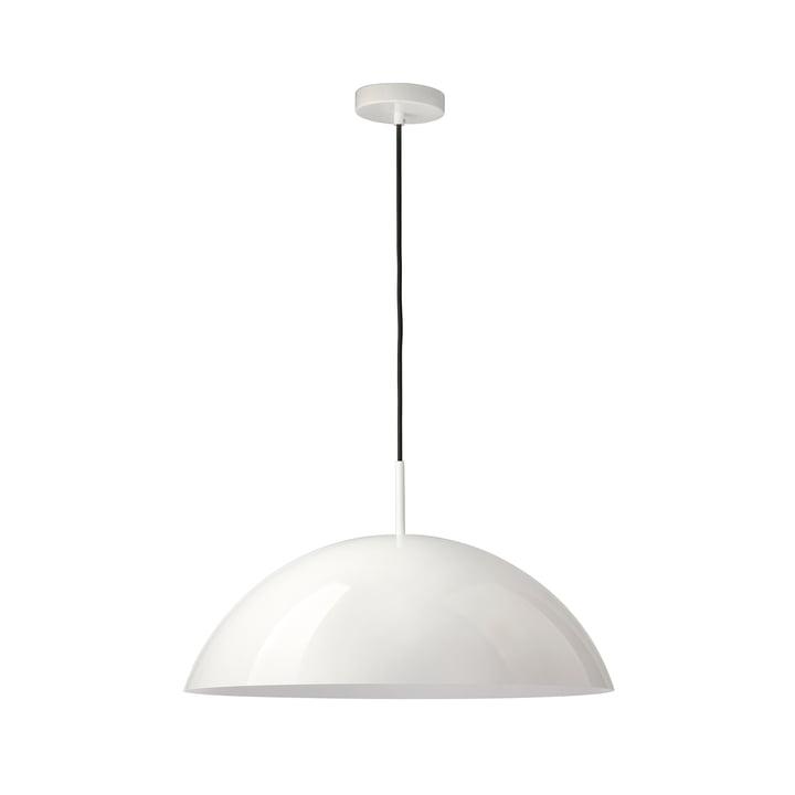 HKliving - Cupola Pendelleuchte, Ø 56 x H 20 cm, weiß