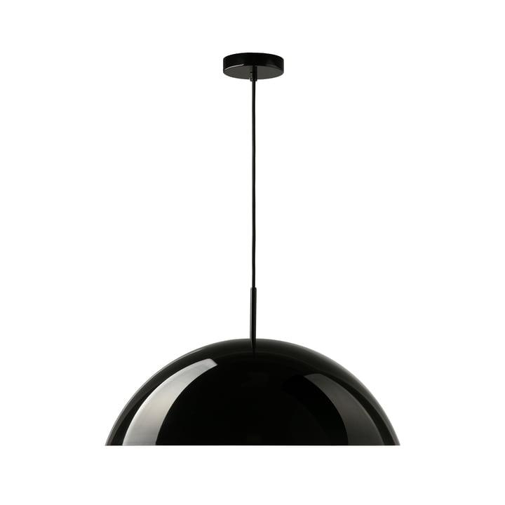 HKliving - Cupola Pendelleuchte, Ø 56 x H 20 cm, schwarz