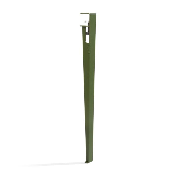 Das Tisch- und Schreibtischbein H 75 cm, rosmarin von TipToe