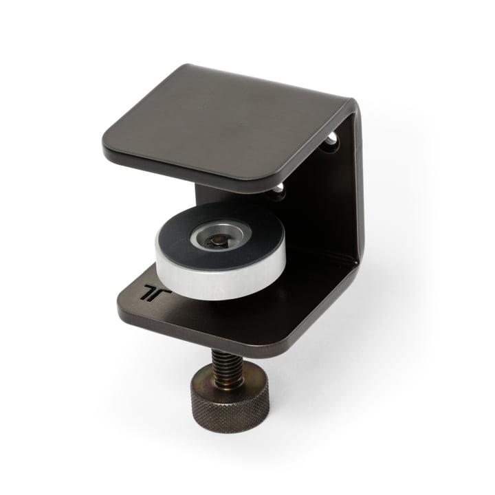 Die Tischplatten Wandhalterung, patinierter Stahl von TipToe