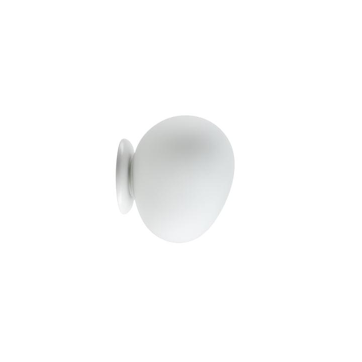 Die Gregg Wand- und Deckenleuchte LED, piccola/ weiß von Foscarini