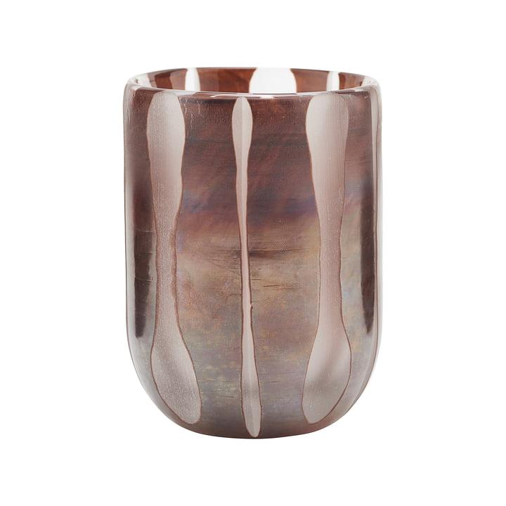 Der Bai Teelichthalter, Ø 8 cm, braun von House Doctor