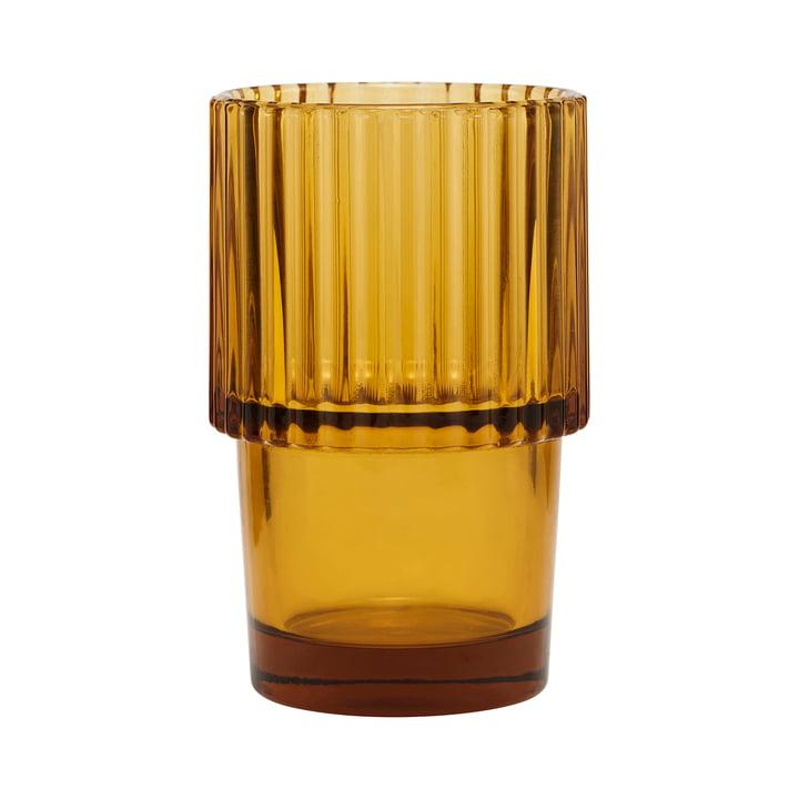 Glas Rills, Bernstein, (4er-Set) von House Doctor