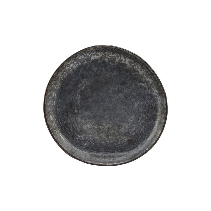 Kuchenteller Pion, Ø 16.5 cm, schwarz / braun von House Doctor