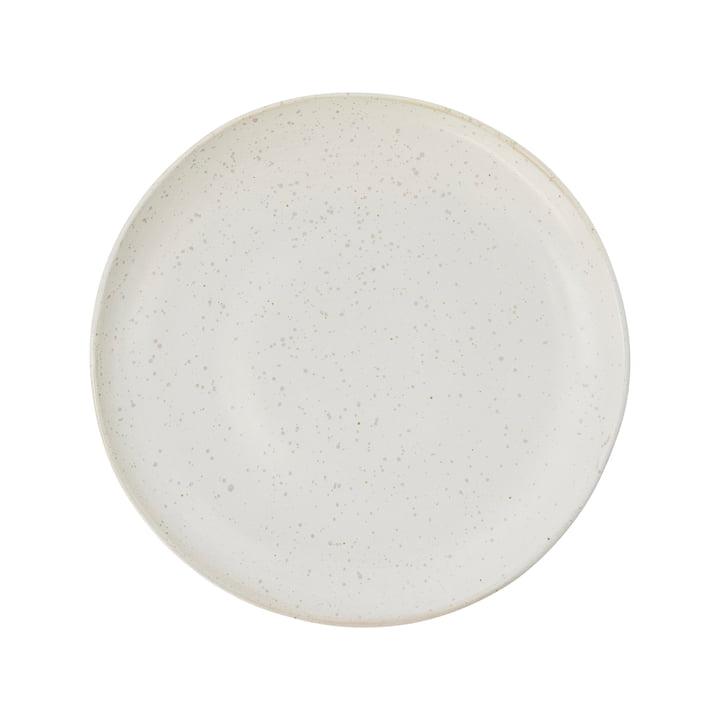 Teller Pion, Ø 21,5 cm, grau / weiß von House Doctor
