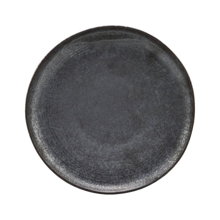 Teller Pion, Ø 21.5 cm, schwarz / braun von House Doctor