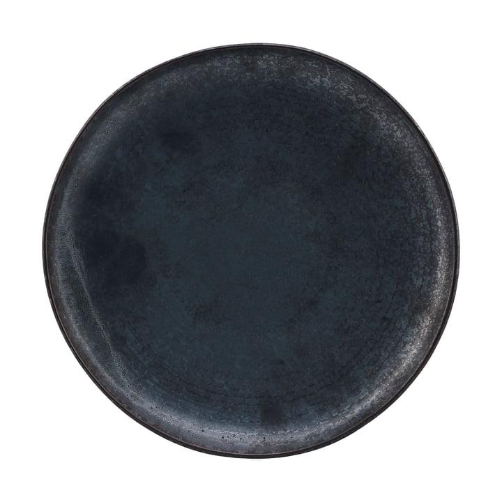 Teller Pion, Ø 28,5 cm, schwarz / braun von House Doctor