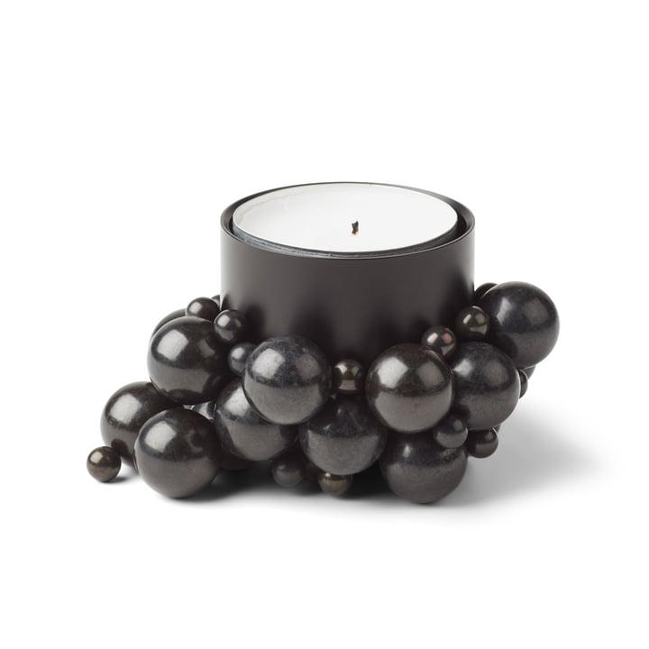 Molekyl Teelichthalter 1, schwarz von Gejst