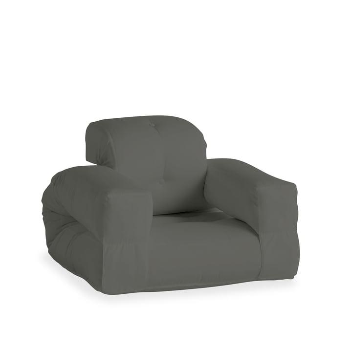 Der Hippo OUT Sessel, dunkelgrau (403) von Karup Design