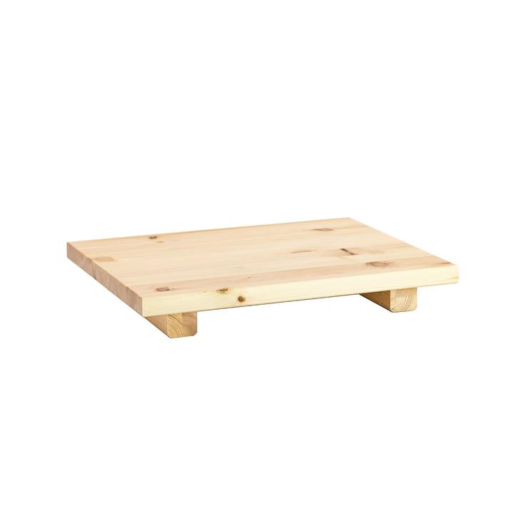 Der Dock Nachttisch, Kiefer klar lackiert (2er-Set) von Karup Design