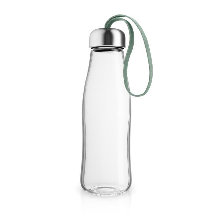 Die Glastrinkflasche 0,5 l, faded green von Eva Solo