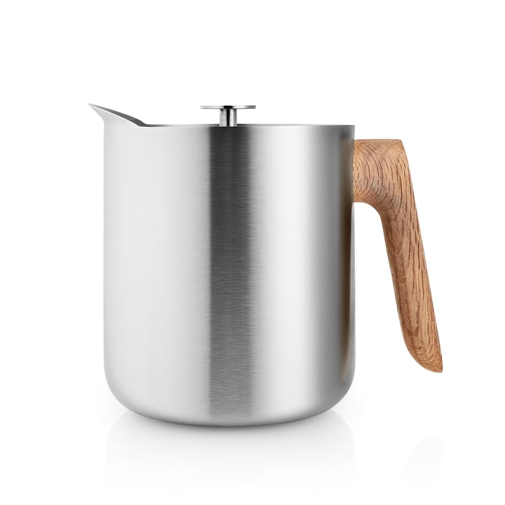 Der Nordic Kitchen Teebereiter 1 l, Edelstahl / Eiche von Eva Solo
