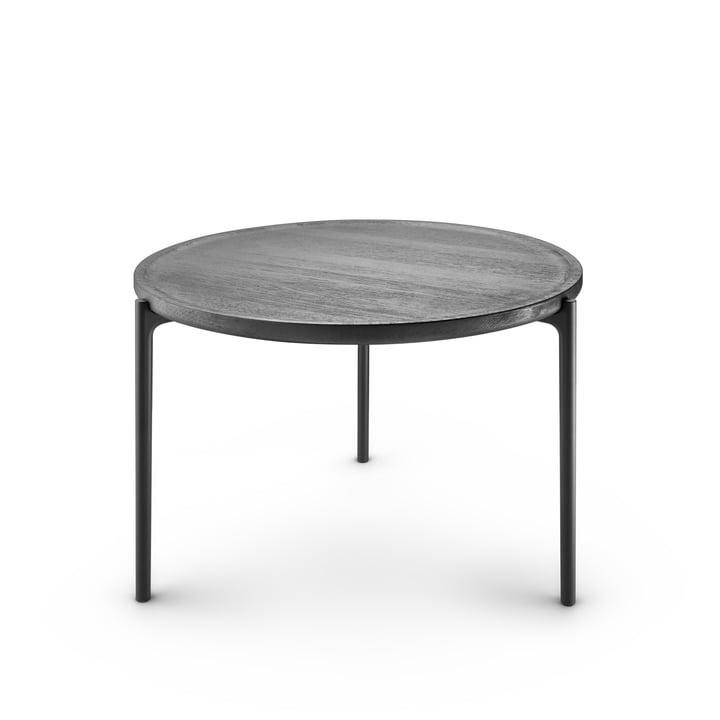 Der Savoye Couchtisch, Ø 60 x H 42 cm, schwarz / schwarz von Eva Solo