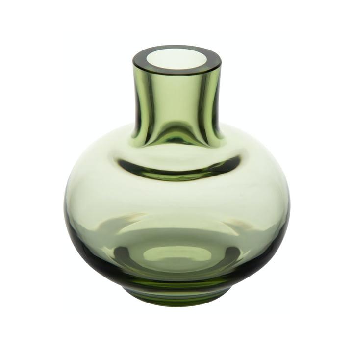 Mini Vase Ø 5,5 x H 6 cm von Marimekko in moosgrün