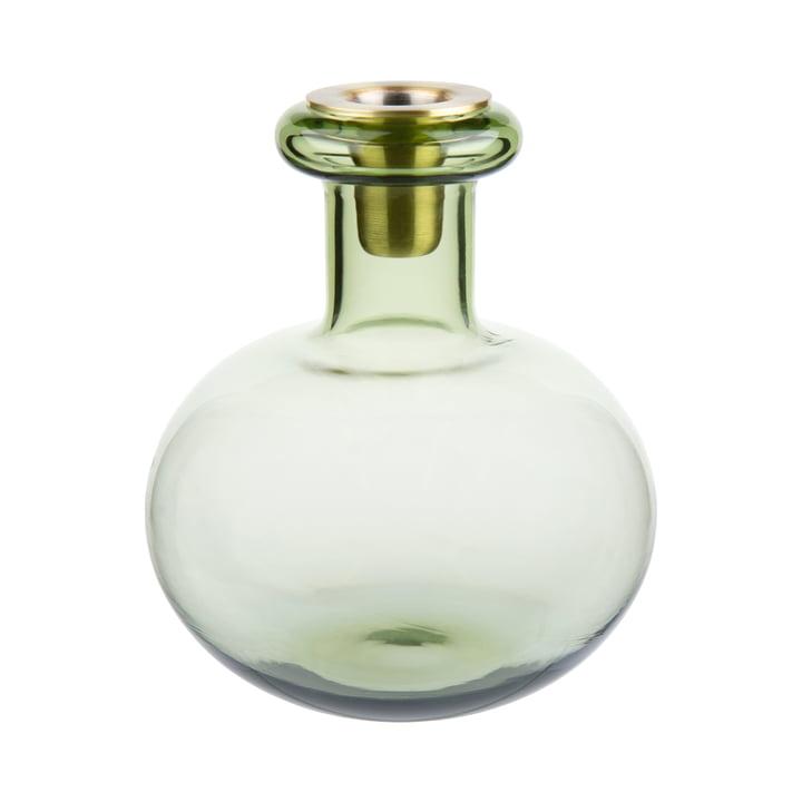 Der Butticula Kerzenhalter, moosgrün von Marimekko