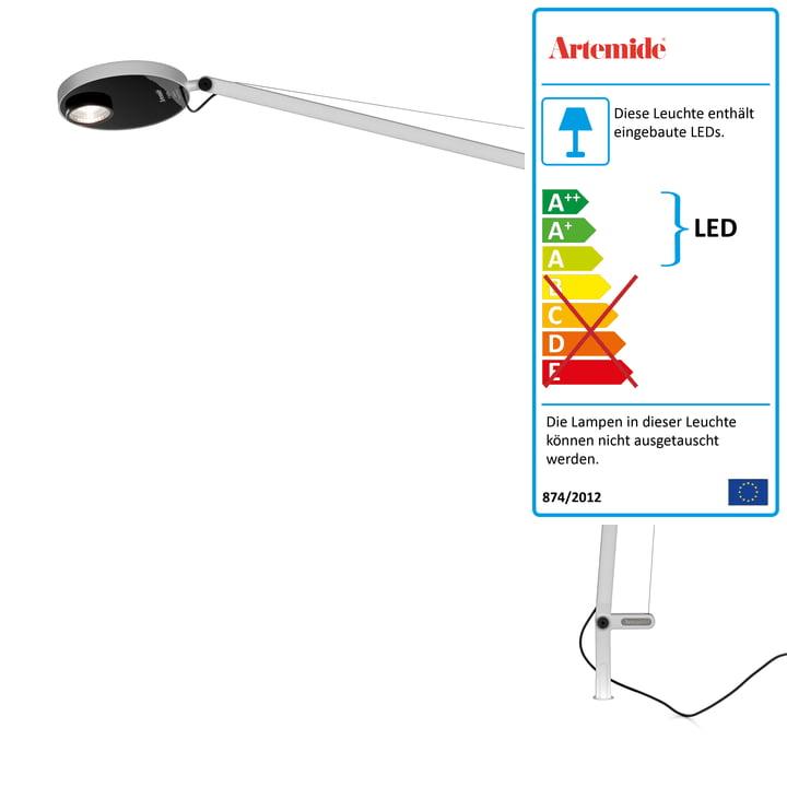 Demetra Professional LED-Body 3000K von Artemide in weiß