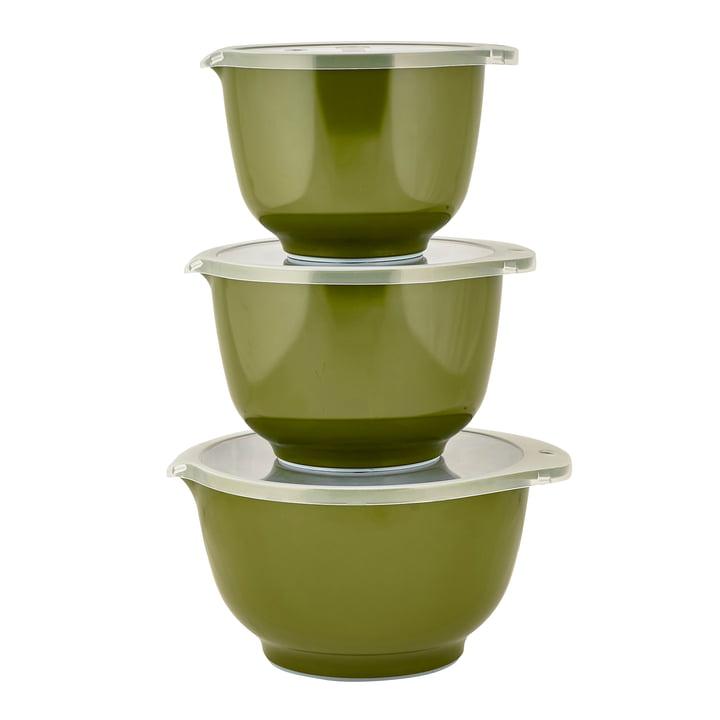 Die Margrethe Rührschüssel-Set, olive (6-tlg.) von Rosti