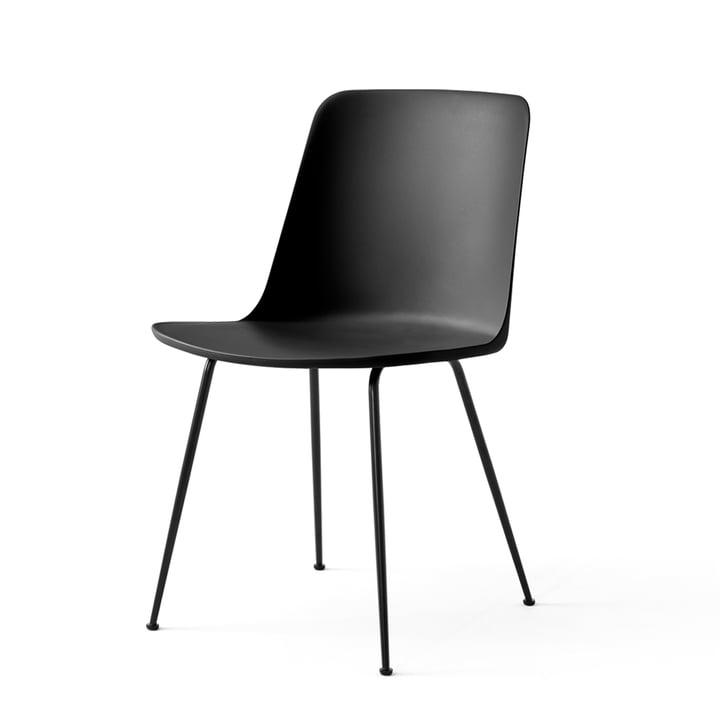 Der Rely Chair HW6, schwarz / schwarz von &tradition